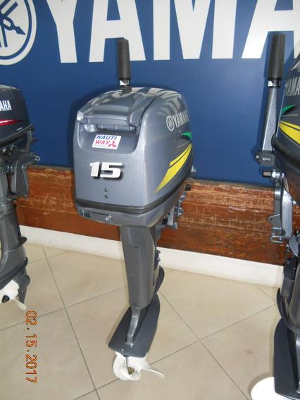 Motor Popa Yamaha 15 Hp Novo Original 5 Anos De Garantia