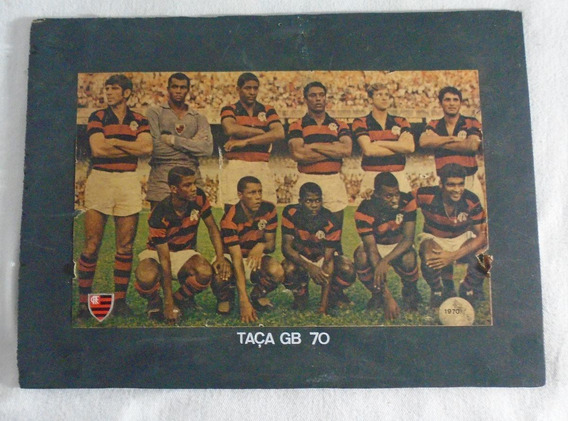 Flamengo Pôster Futebol Taça Guanabara 70