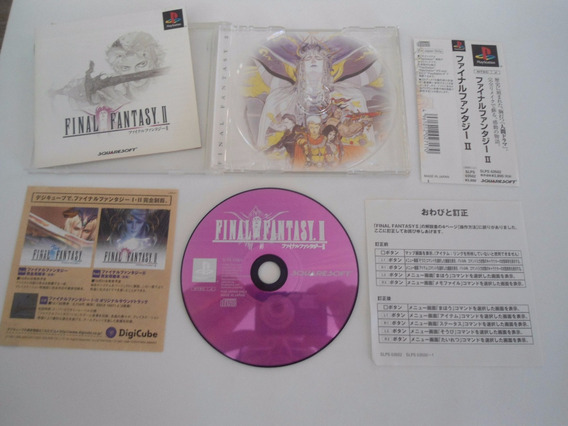 Final Fantasy 2 Pst Play1 Playstation Original Frete 15