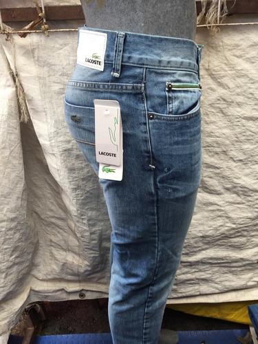 Lacoste Jeans Hombre Mezclilla Pantalon Mercado Libre