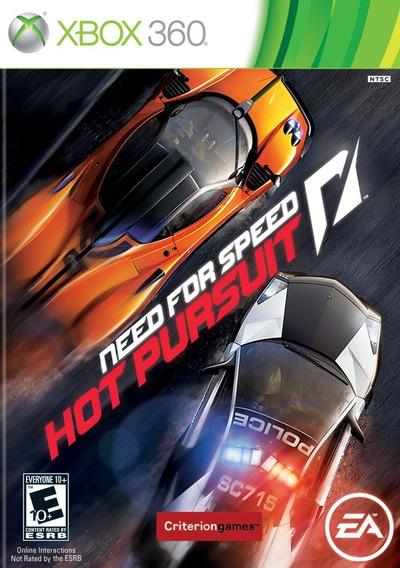 Jogo Novo Lacrado Need For Speed Hot Pursuit Para Xbox 360
