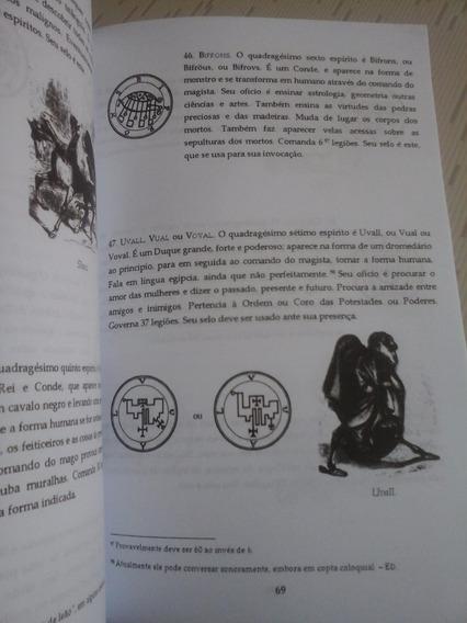 Goetia, Aleister Crowley, Demonologia, Frete Grátis!
