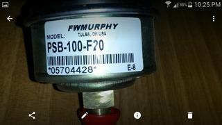 Interruptor De Presión De Montaje Directo Mod Psb -100-f20