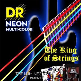 Encordoamento P/ Baixo De 4 Cordas Dr Neon - Multi .45