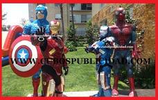 Fibra De Vidrio, Iron Man, Halo, Botargas, Era Del Hielo Op4