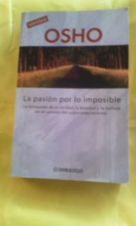 Libro Osho La Pasión Por Lo Imposible