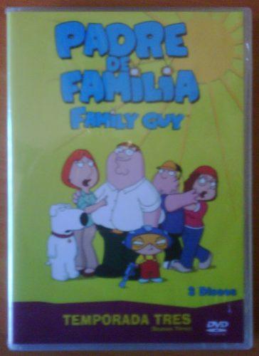 Padre De Familia (family Guy): Tercera Temporada (dvd, 2008)