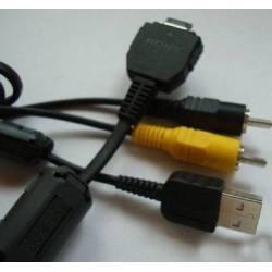 Cable Usb Audio Video Para Camaras Dgititales Sony Original