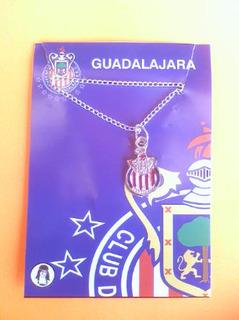 3 Collares Y 1 Pulsera De Las Chivas Rayadas De Guadalajara
