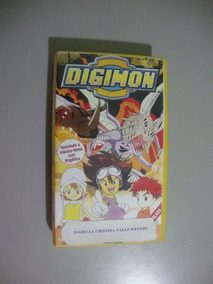 Fita Vhs Digimon - Monsters