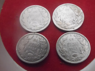 Monedas Nacionales De Platas 1 Pesos 1921