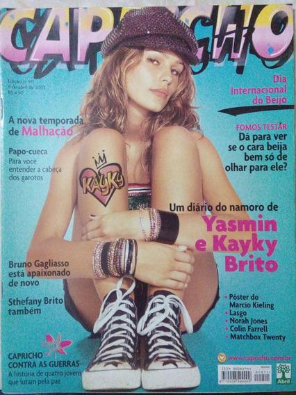 Revista Capricho N. 911 - Yasmin Brunet, Bruno Gagliasso