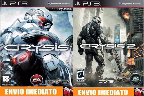 Crysis 1 & 2 - Ps3 - Cód Psn - Envio Imediato.