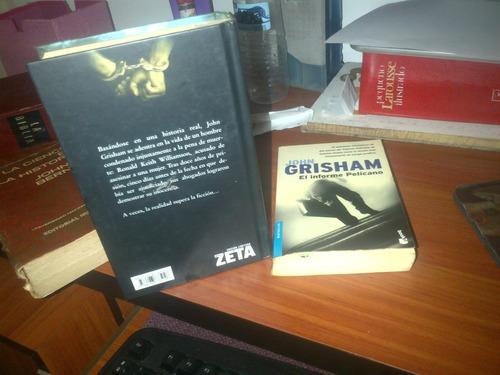 Novela Informe Pelicano Y El Proyecto. John Grisham.5verdess
