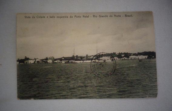 Cartão Postal Porto Natal Rio Grande Do Norte 1918