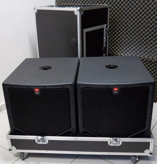 Caixa Sub Jbl 18 Eon 518s C/case 10mil Par
