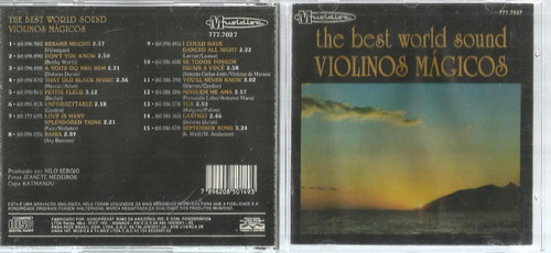Cd The Best World Sound Violinos Magicos Bonellihq Cx45 E19