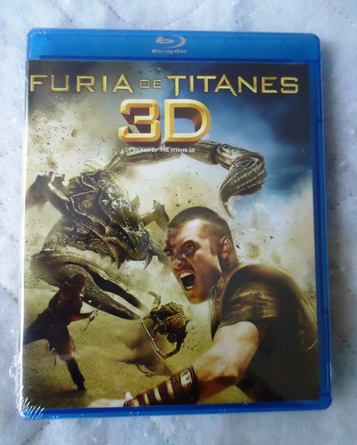 Furia De Titanes Clash Of The Titans Pelicula  Blu-ray 3d