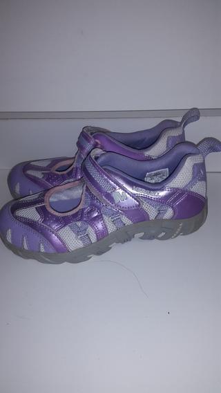 Zapatillas Lila Merrel!!! 34. Importadas.