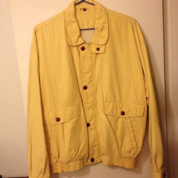 Jacket Cor Amarela Tam . Xxl. Adquirida Na França, Brummel