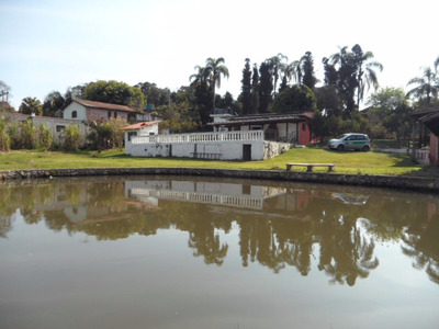 São Roque Linda Chácara C/2.400,00m2 Piscina, Lago, Apenas