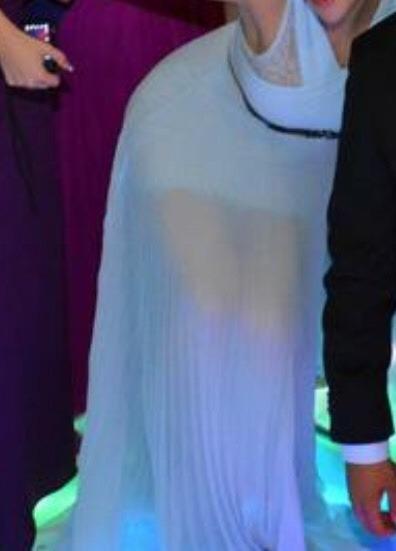 Vestido Marca Bcbg Azul Cielo
