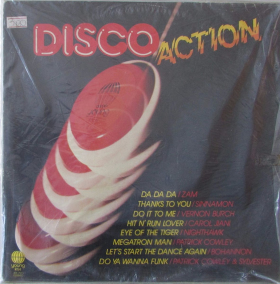 Lp Disco Action - 1982 - Young
