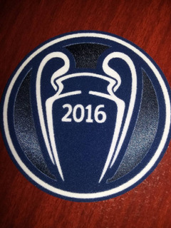 Patch Ucl Trophy 2016 Real Madrid Trofeu 2016 Champions