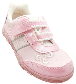 Tênis Infantil Feminino Rosa - Bloompy 2313 - Dicastros