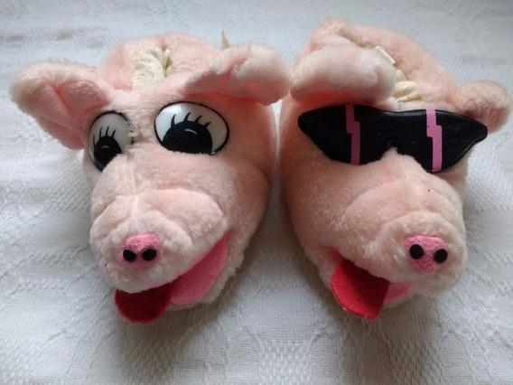 Pantufa Antiga Porco