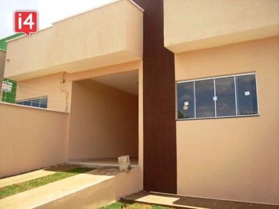 Casa Para Venda Cardoso Continuacao, Aparecida De Goiania 3 Dormitórios Sendo 1 Suíte, 1 Sala, 2 Vagas 89,00 M2 Construída 180m² De Lote - Os2558 - 3474932