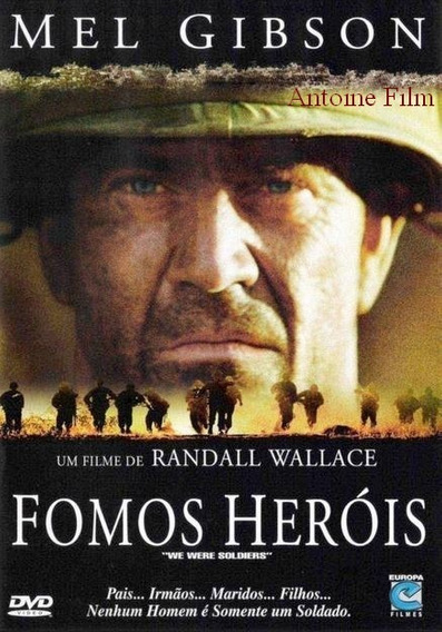 Fomos Herois Dvd Novo Original Lacrado Dublado