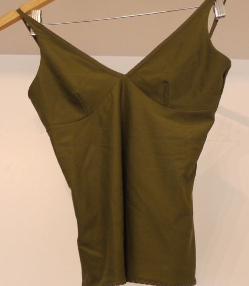 Musculosa-top Verde Talle 1