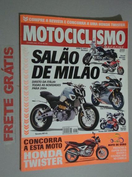 Revista Motociclismo Magazine - Salão De Milão