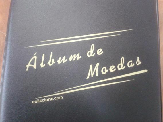 1 Album Pvc P/200 Moedas* + Álbum Para 200 Cédulas Pvc