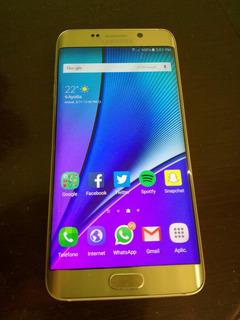 Galaxy S6 Edge Plus Gold 32gb Libre Impecable