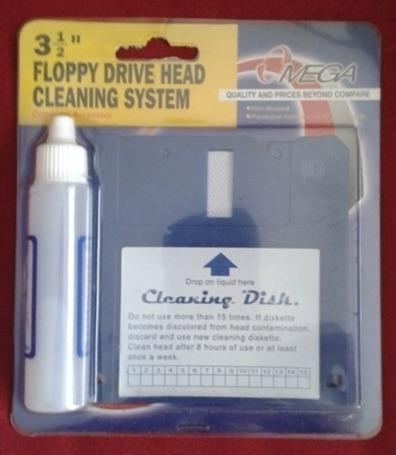 Limpiador Diskette De Floppy 3 1/2