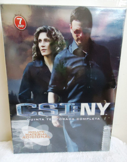 Csi Ny New York Temporadas 1 2 3 4 Y 5 Serie Dvd
