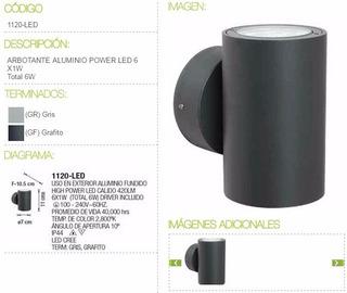 Luminarias Led Minimalista Lujo Y Elegancia Aluminio Fundido