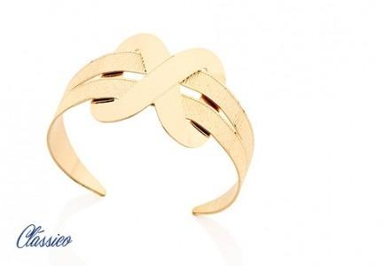 Bracelete Com Detalhe Na Parte Superior
