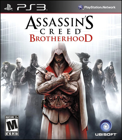 Jogo Assassins Creed Brotherhood Ps3 Mídia Física Original