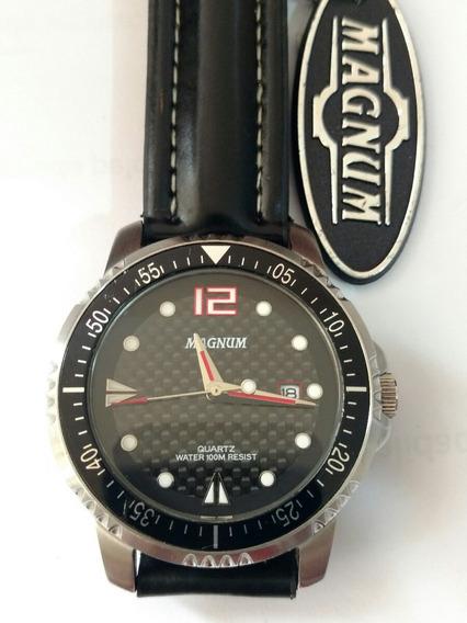 Relógio Magnum Carbono