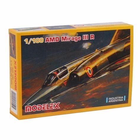 Modelex Aviones Serie 1 Amd Mirage Iii R 1/100