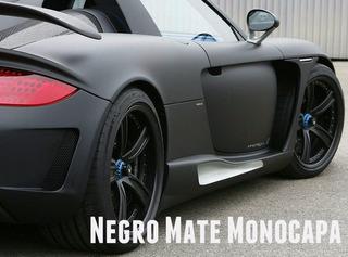 Pintura Negro Mate Satinado Automotor Motos Muebles