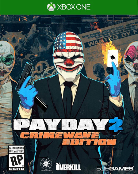 Payday 2 Crimewave Edit - Xbox One - Mídia Física Lacrado Nf