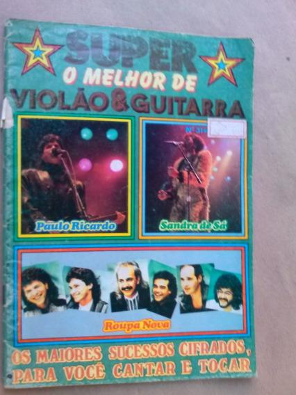 Revista - Super O Melhor De Violão & Guitarra - 31 Sandra