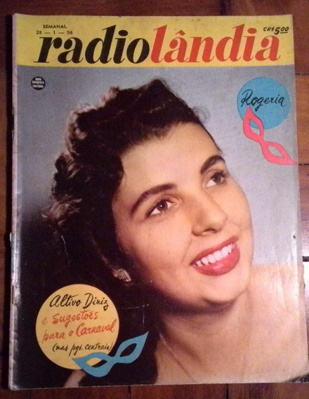 Revista Radiolandia 1956 Rogeria Emilinha Lana Bittencourt
