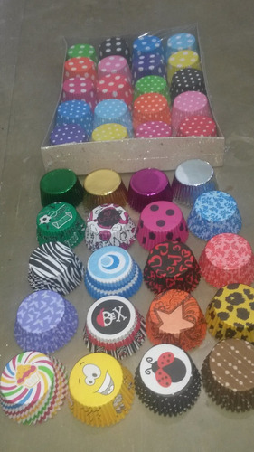 Pirotines Cupcakes Y Muffins X500 Unid Cotillon Sergio Once