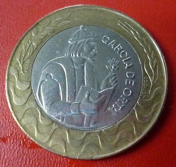 Portugal Moneda Bimetalica Garcia De Orta 200 Escudos 1998