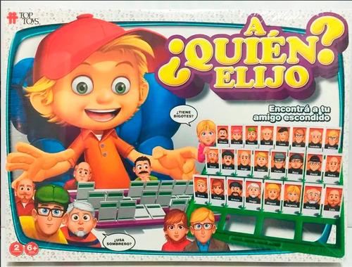 A Quien Elijo Quien Es Quien Grande Original Top Toys Edu